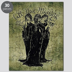 Witches All Hail Macbeth Puzzle