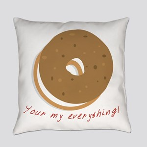 bagle_Your my everything! Everyday Pillow