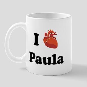 I (Heart) Paula Mug