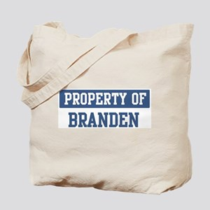 Property of BRANDEN Tote Bag