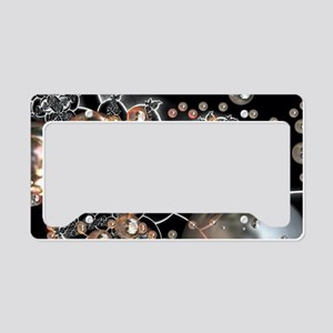 Rustic Pearls License Plate Holder