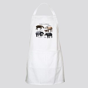 Tapirs of the World Apron