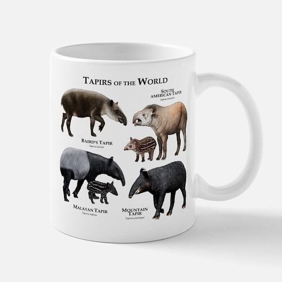 Tapirs of the World Mug