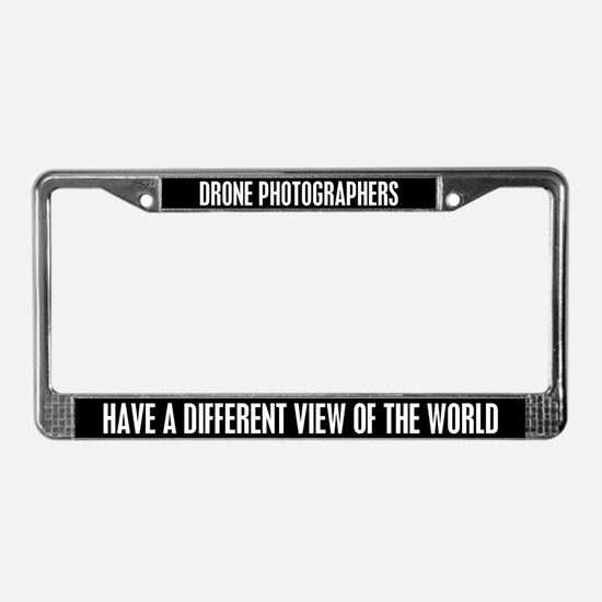 Cool Photography License Plate Frame