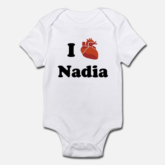 I (Heart) Nadia Infant Bodysuit
