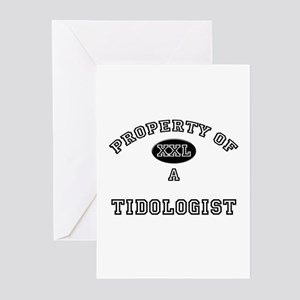 Property of a Tidologist Greeting Cards (Pk of 10)