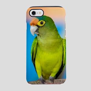 Green Parakeet on Nicaraguan iPhone 8/7 Tough Case