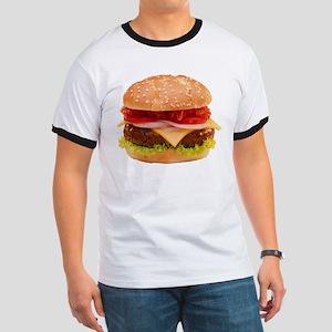 yummy cheeseburger photo Ringer T