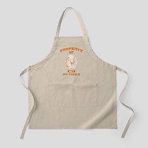 Poodle BBQ Apron