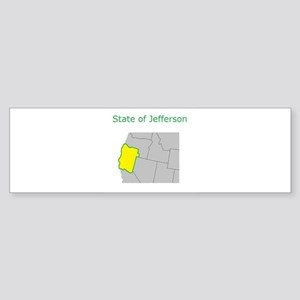 State of Jefferson Bumper Sticker
