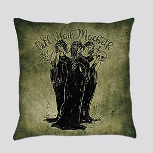 Witches All Hail Macbeth Everyday Pillow