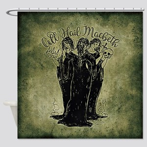 Witches All Hail Macbeth Shower Curtain