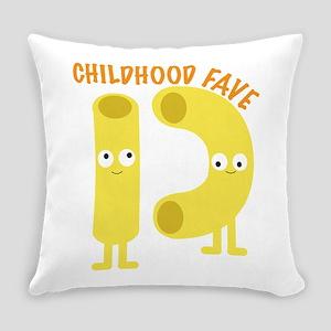 macaroni_childhood fave Everyday Pillow