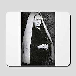 Saint Bernadette Mousepad