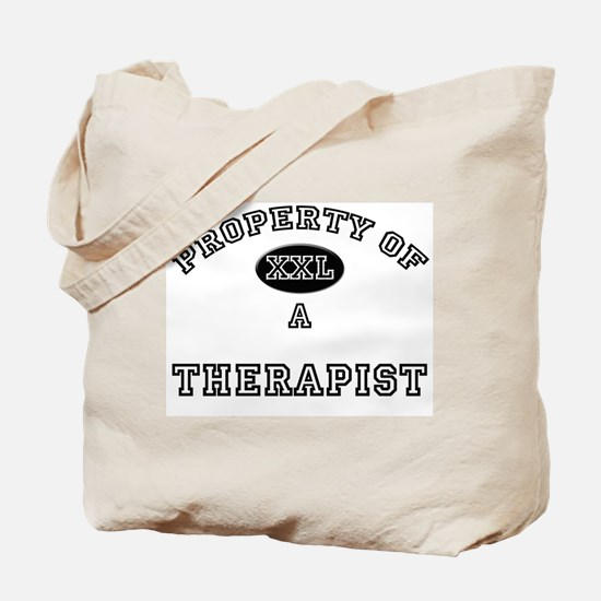 Property of a Therapist Tote Bag
