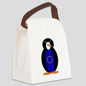 Penguin of the European Union Canvas Lunch Bag