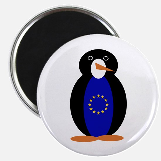 Penguin of the European Union Magnets