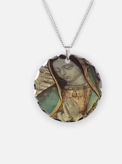 Unique Virgin mary Necklace