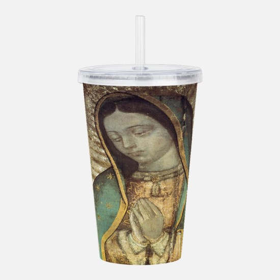 Unique Guadalupe Acrylic Double-wall Tumbler