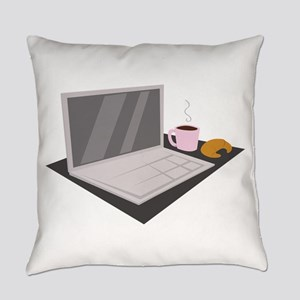 Laptop Everyday Pillow