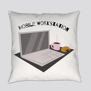 Mobile Workstation Everyday Pillow