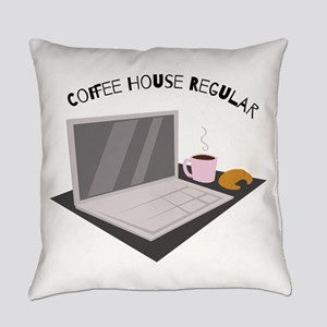 Coffee House Regular Everyday Pillow