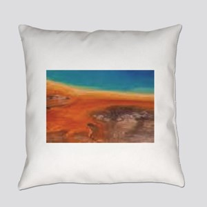 natural mix of color Everyday Pillow