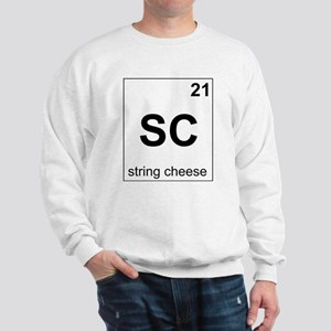 String cheese periodic element Sweatshirt