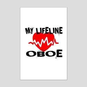 My Lifeline oboe Mini Poster Print