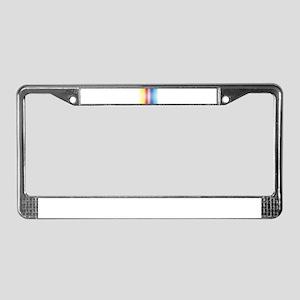 Color Line License Plate Frame