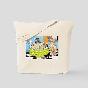 Cat 464 Tote Bag