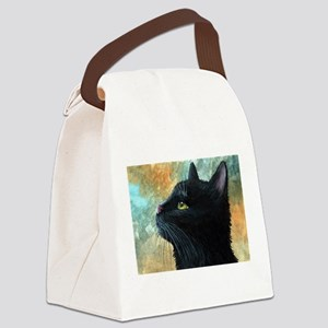 Cat 545 Canvas Lunch Bag