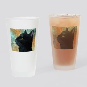 Cat 545 Drinking Glass