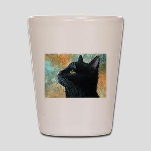 Cat 545 Shot Glass