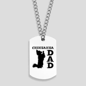 CHIHUAHUA DAD Dog Tags