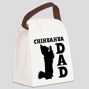 CHIHUAHUA DAD Canvas Lunch Bag