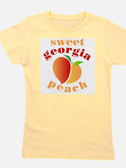 Cute Love peaches Girl's Tee