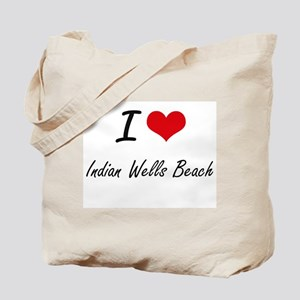 I love Indian Wells Beach New York artis Tote Bag