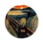Scream 50th Ornament (Round)