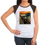 Scream 50th Women's Cap Sleeve T-Shirt