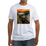 Scream 50th Fitted T-Shirt