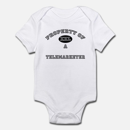 Property of a Telemarketer Infant Bodysuit