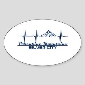 Porcupine Mountains - Silver City - Mich Sticker