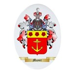 Mayer Oval Ornament
