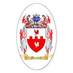 Maycock Sticker (Oval 50 pk)