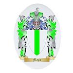 Maya Oval Ornament