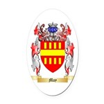 May Oval Car Magnet