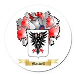 Maxwell Round Car Magnet
