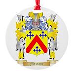 Maxtone Round Ornament