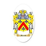 Maxted Oval Car Magnet